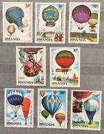 Rwanda 1984; Balloons, Zeppelins ; MNH** High Value!! - 1980-89: Neufs
