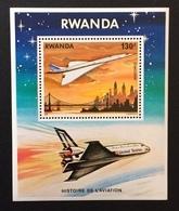 Rwanda 1978; Concorde, Airplane; Scarce!!! MNH** High Value! - Rwanda