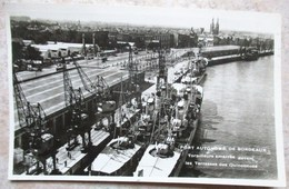 CPA PORT AUTONOME DE BORDEAUX NAVIRES BATEAUX TORPILLEURS MARINE NATIONALE - Barcos