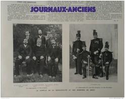 1904 POMPIERS DE BREST - AFFAIRE DE CLUSES - SAINT BRIEUC VIADU DE TOUPIN - BATAILLE DE LIAO YANG - Journaux - Quotidiens