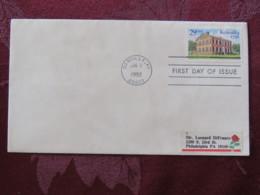 USA 1992 FDC Cover Danville - Kentucky Statehood - Etats-Unis