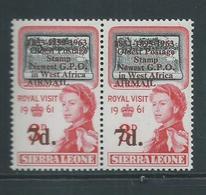 "Sierra Leone 1963 Postal Anniversary 7d  "" 1895 For 1859 "" Variety MNH - Sierra Leone (1961-...)"