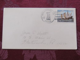 "USA 1992 Special ""Columbus, PA"" Cover - Voyages Of Columbus - Ships - Etats-Unis"