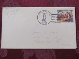 """USA 1992 Special """"Columbus, ND"""" Cover - Voyages Of Columbus - Ships - Etats-Unis"""
