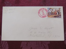 """USA 1992 Special """"Columbus, OH"""" Cover - Voyages Of Columbus - Ships - Etats-Unis"""