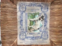 DECOUPI LA PRECIEUSE Chicorée Extra LE MOKA JAPONAIS B.Bourgeois & L'abbé PROVILLE-LES-CAMBRAI  Nord  CHIENS - Animals