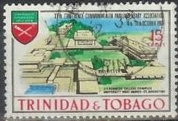 1969 15 Cents Parliament Conference, Used - Trinidad & Tobago (1962-...)