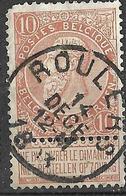 9W-987: N°57: E9: ROULERS - 1893-1900 Fine Barbe