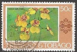 1978 50 Cents Orchid, Used - Trinidad & Tobago (1962-...)