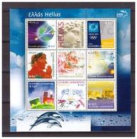 Greece 2003 Personal Stamp Train Space S/S MNH - Nuovi