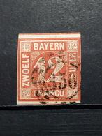Altedeutschland Bayern Mi-Nr. 6 Gestempelt TOP Erhaltung KW-170€ - Bayern