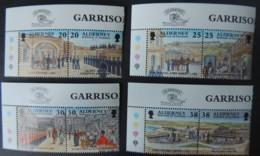 ALDERNEY 1999 GARRISON ISLAND 3rd SERIES 8 VALUES MNH A132-A139 MILITARIA FORTS - Alderney