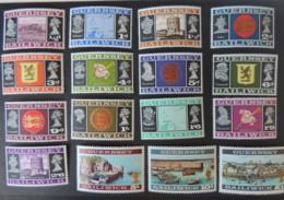 GUERNSEY 1969 POSTAL INDEPENDENCE SET OF 16 MNH SG13-28 - Guernsey