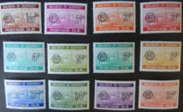 GUERNSEY 1977 POSTAGE DUES SCENES SET OF 12 MNH SGD18-D29 - Guernsey