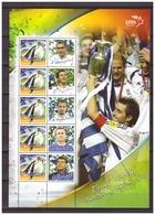 Greece 2004 European Championship Soccer Football S/S 1 MNH - Fußball-Europameisterschaft (UEFA)