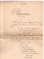 Lettre De La Maison Beethoven à Leipzig Du 16 Avril 1875 - Concerne 2 Oeuvres Musicales - Belgium
