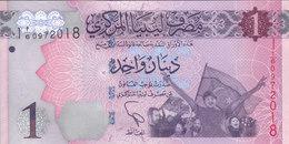 LIBYA 1 DINAR 2013 P-76 UNC */* - Libië