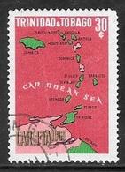 1969 30 Cents CARIFTA, Used - Trinidad & Tobago (1962-...)