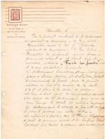 Contrat De Vente Entre Mado, Compositeur Et Jean Pletinckx, Editeur De Musique - Années 30 - 1900 – 1949
