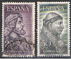 (E 217) ESPAÑA //  YVERT 294, 295 PA  // EDIFIL 1538, 1539 SERIE COMPLETE // 1963 - 1961-70 Oblitérés