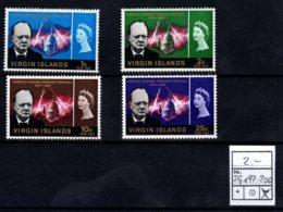 British Virgin Islands, 1966, SG 197 - 200, MNH - Britse Maagdeneilanden
