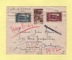 Communications Interrompues Avec La France - Acheminement Impossible - Maroc 1942 - 2. Weltkrieg 1939-1945