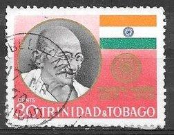 1970 30 Cents Gandhi, Used - Trinidad & Tobago (1962-...)