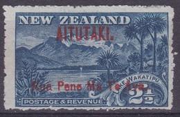 Aitutaki 1903 Overprint On NZ P.14 SG 3 Mint Hinged - Aitutaki