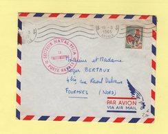 Poste Navale - 1965 - Secteur Naval 771/A - Poststempel (Briefe)