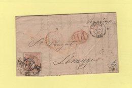 Espagne - Vitoria - 8 Dec 1870 - Destination France - 1870-72 Regentschaft