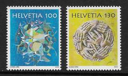 Switzerland 2009 Hans Erni 2v Set Complete Unmounted Mint [4/3752/N] - Switzerland