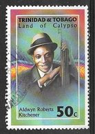 1994 50 Cents Land Of Calypso – Aldwin Roberts Kitchener, Used - Trinidad & Tobago (1962-...)