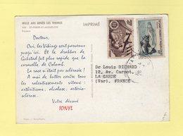 Saint Pierre Et Miquelon - Carte Plasmarine Ionyl - Mille Ans Apres Les Vikings VIIII - St.Pierre & Miquelon