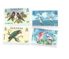 350/53  Oiseaux   Luxe(clascamer3)) - Bahamas (1973-...)