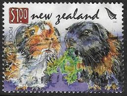 New Zealand SG3021 2008 Chinese New Year $1 Good/fine Used [39/32133/4D] - Nuova Zelanda