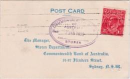 Australia 1925 Postcard George V - 1913-36 George V : Têtes
