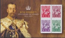 Australia 2014 George V Anniverary Mint Never Hinged Sheet - 2010-... Elizabeth II