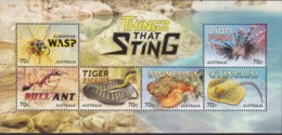 Australia 2014 Things That Sting Mint Never Hinged Sheet - 2010-... Elizabeth II