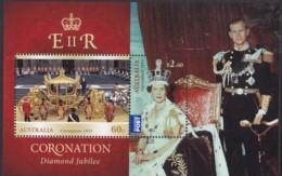 Australia 2014 Coronation Mint Never Hinged Sheet - 2010-... Elizabeth II