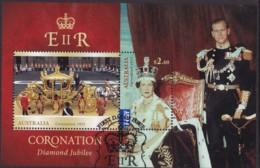 Australia 2014 Coronation Used Sheet - 2010-... Elizabeth II