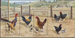 Australia 2013 Chickens Mint Never Hinged Sheet - 2010-... Elizabeth II