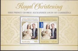 Australia 2014 Prince George Mint Never Hinged Sheet - 2010-... Elizabeth II