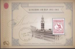 Australia 2013 $10 Kangaroo Mint Never Hinged Sheet - 2010-... Elizabeth II