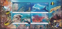 Australia 2013 Barrier Reef Mint Never Hinged Sheet - 2010-... Elizabeth II