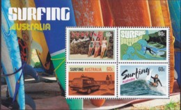 Australia 2013 Surfing Mint Never Hinged Sheet - 2010-... Elizabeth II