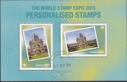 Australia 2013 Personalised CTO Sheet - 2010-... Elizabeth II