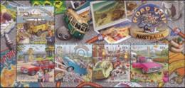 Australia 2013 Road Trip Sheet Mint Never Hinged - 2010-... Elizabeth II