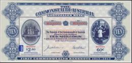 Australia 2013 Note Sheet Mint Never Hinged - 2010-... Elizabeth II