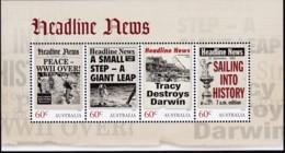 Australia 2013 Headline News Sheet Mint Never Hinged - 2010-... Elizabeth II