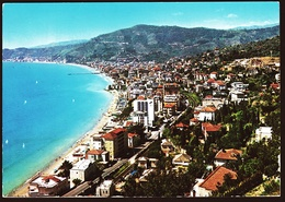 Alassio  -  Riviera Dei Fiori  -  Panorama  -  Ansichtskarte Ca.1970    (10651) - Italien